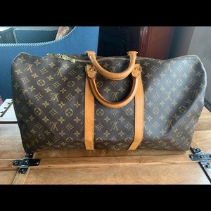 Louis Vuitton Boston keepall 55 Travel Bag